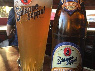 Algo de la gran variedad de cervezas disponibles!