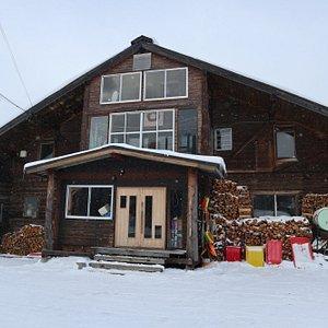 The lodge ...