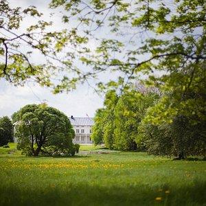 Linderud gård sett fra Trondheimsveien
