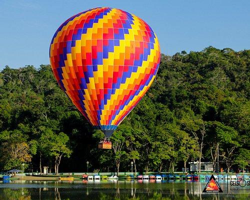 Voe de balão em São Lourenço
