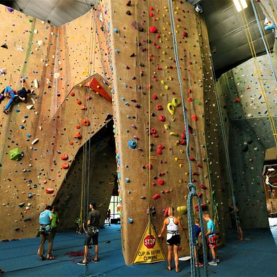 Climbing areas for all ages and abilities.