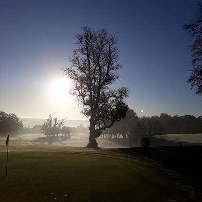 Early morning view from 10th green