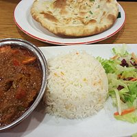 Chicken Balti with Basmathi Rice