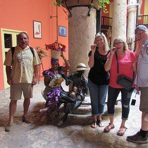 At the Rum Museum in Havana