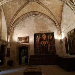 Sala gótica.