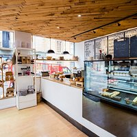 Bakery shop, where we sell everything from real bread to patisseries, pastries, cakes and more!