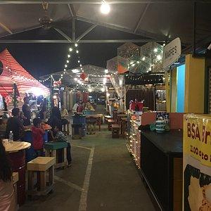 ASquare Container Night Market