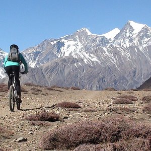Lower Mustang Bike Tour. Nepal best and short multi days trip.