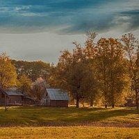 """Живой музей """"Доронино"""" расположен на территории исторического заповедника """"Бородинское поле"""""""