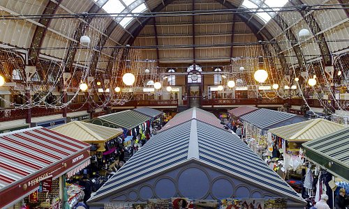 A view from the Market from our aptly named Panorama Cafe