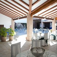 Restaurante terraza en su Interiro