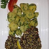 Steirerschnitzel mit Petersilkartoffeln