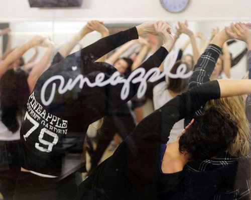 Dancers in class at Pineapple Dance Studios. All classes are drop-in.