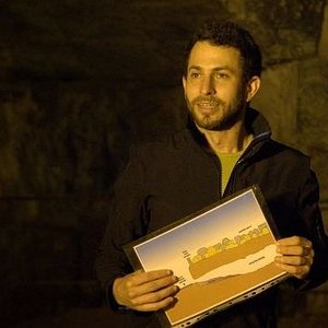 Guiding an Israeli-Palestinian group in Solomon's Quarry