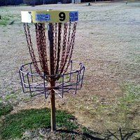 This is Basket number 9 on the course.