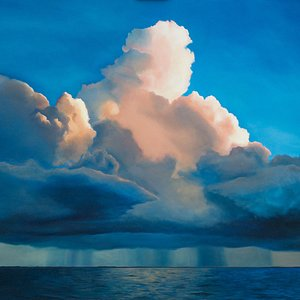 Storm Over Sea- Edward Duff at Higher Art Gallery