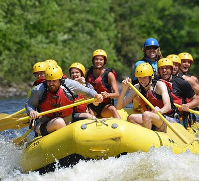 Classic Rafting Rivière Rouge