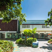Our Museum is two streets from Cairns Esplanade, in the School of Arts building.