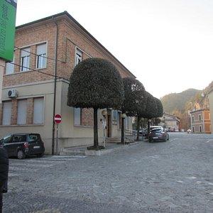 Il municipio, sede dell'ufficio turistico