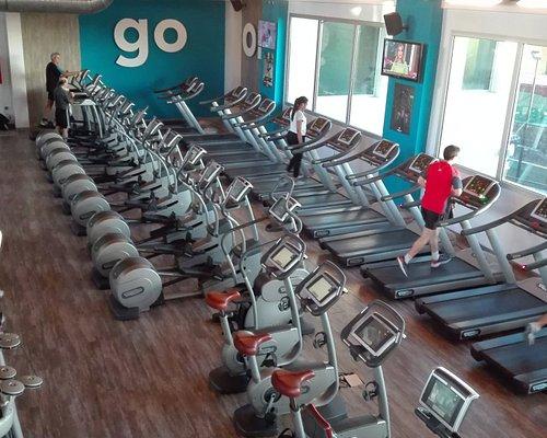 sala fitness y cardio