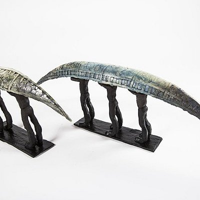 New, unique soul boats from the extremely talented award winning ceramicist, Clodagh Redden.