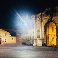 Piazzale Portuense in notturna