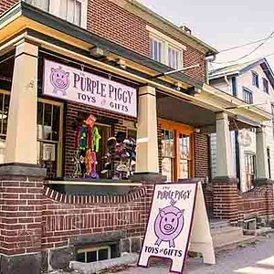 The Purple Piggy Toys and Gifts Store on Steinwehr Ave