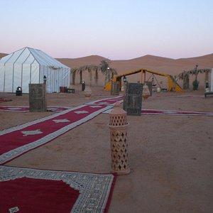 fuori tenda