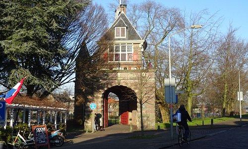 Rijksmonument Oosterpoort uit 1578;Hoorn