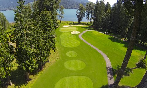 Located on Sandpiper Golf Course facing the Harrison River
