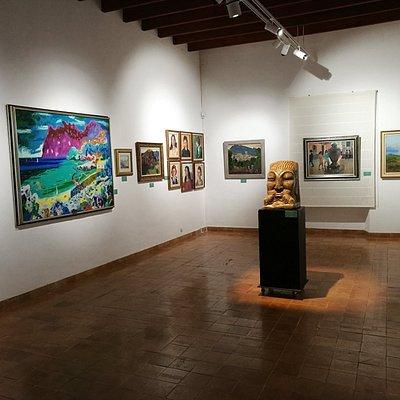 Sala de exposiciones.