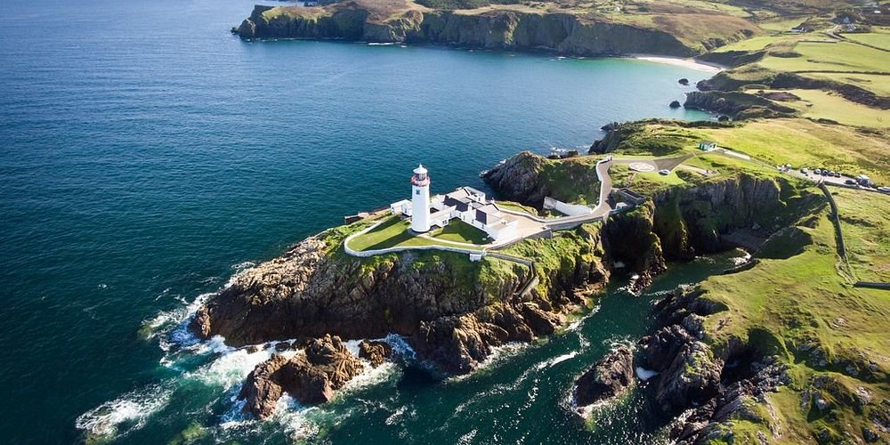 Fanad Lighthouse in Donegal. Photo provided by Tourism Ireland