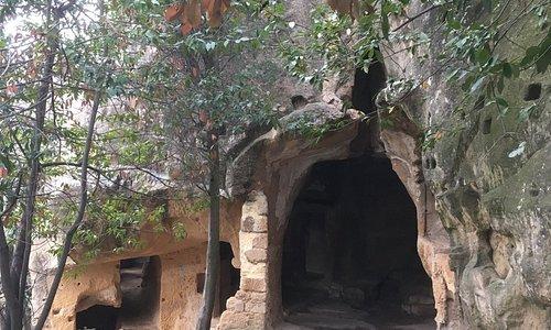 L'ingresso superiore del Romitorio.