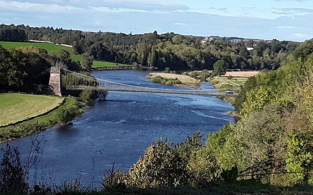 Chain Bridge view from Honey farm