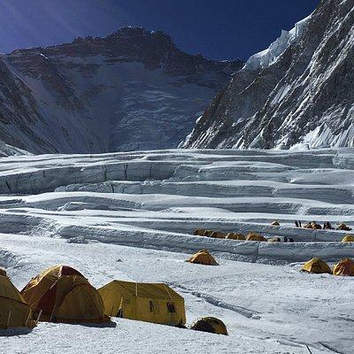Everest Camp 1, Everest  Expedition