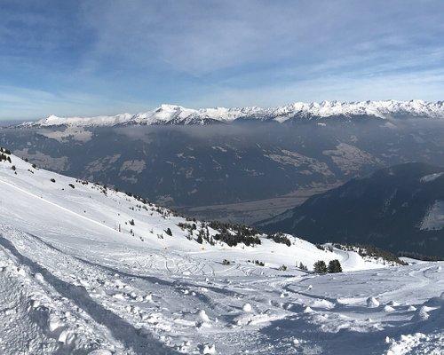 Vue depuis le sommet du Panoramabahn
