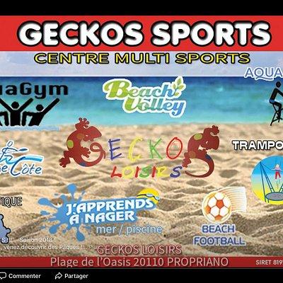 Club de plage Geckos loisirs propriano