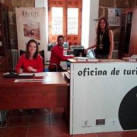 Bienvenidos a la Oficina de Turismo de Huete