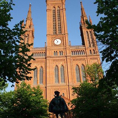 Marktkirche mit Wilhelm