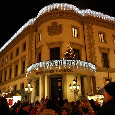 Landtag zu Weihnachten
