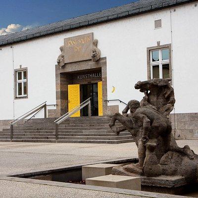 Kunsthalle Eingang
