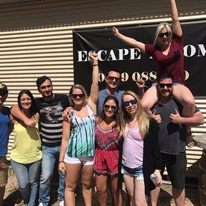 Awesome fun in the Wine Escape Room
