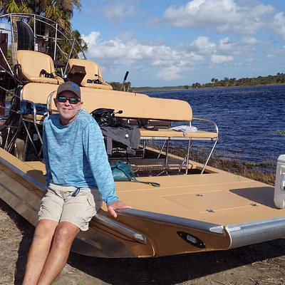 Captain Mike Channell and the Instagator Airboat
