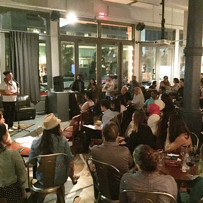 Open Mic Poetry Night (first and third Tuesdays)