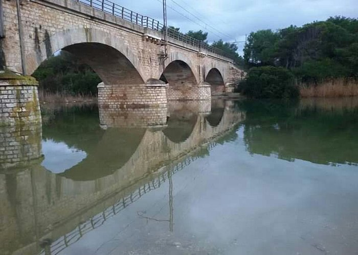 Ponte sul Fiume Lenne a Palagiano