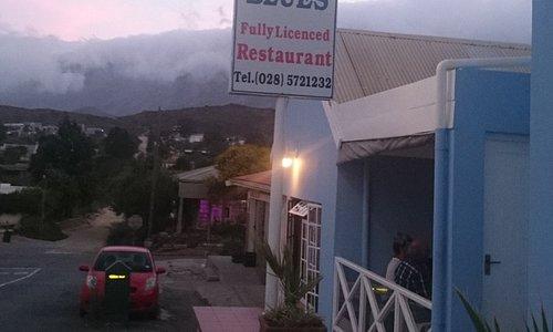 Das Restaurant ist in dem schönen Ort Barrydale