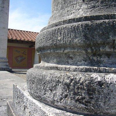 Altrömische Tempelanlage zu Ehren des Apollo-Grannus
