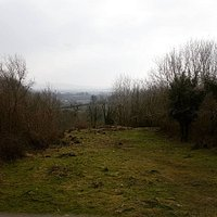 One of the views from Mooghaun Hillfort