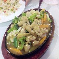 طبق الخضروات بالدجاج الرائع