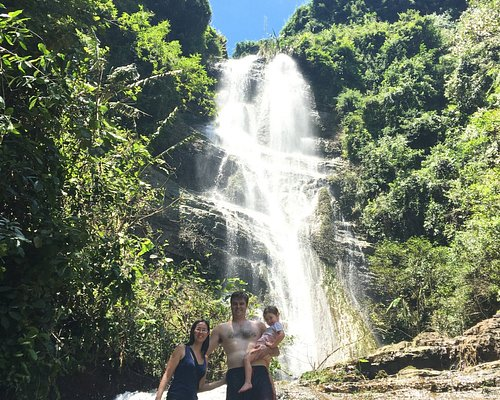 Amazing day with the family at the Pubutang waterfall!